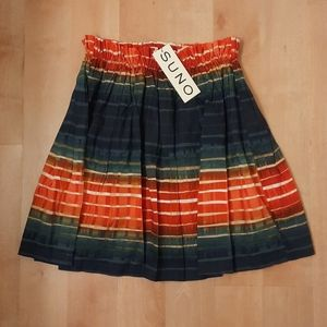 SUNO Ombre Circle Skirt
